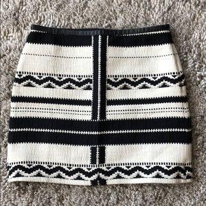Madewell Gamine E5151 Navajo buck White Skirt